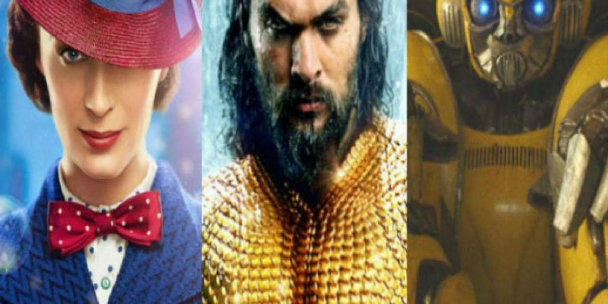 أفلام جديدة تنعش شباك التذاكر.. Aquaman يقترب من نصف مليار في أول أيام عرضه وBumblebee يخفق