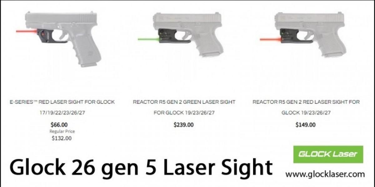 Glock 26 gen 5 Laser Sight