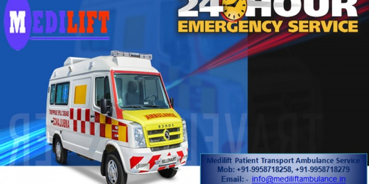 Medilift Renders the Fast and Safe Patient Transportation by Ambulance Service in Ranchi