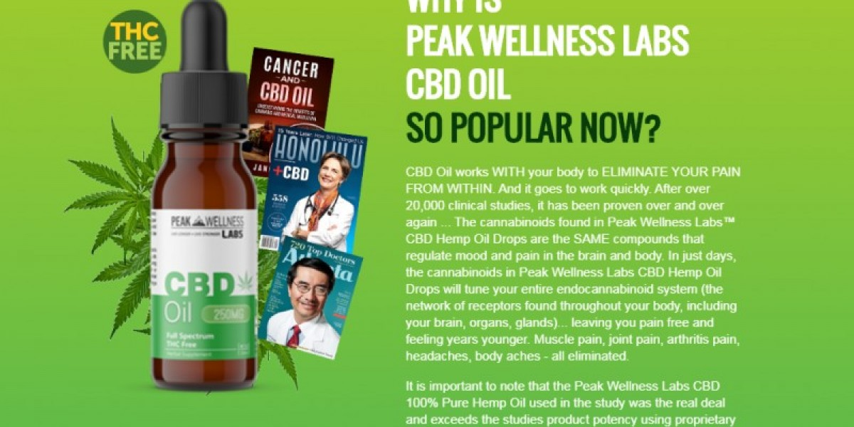 Peak Wellness Cbd Oil Australia-100% Safe To Use For All Ages