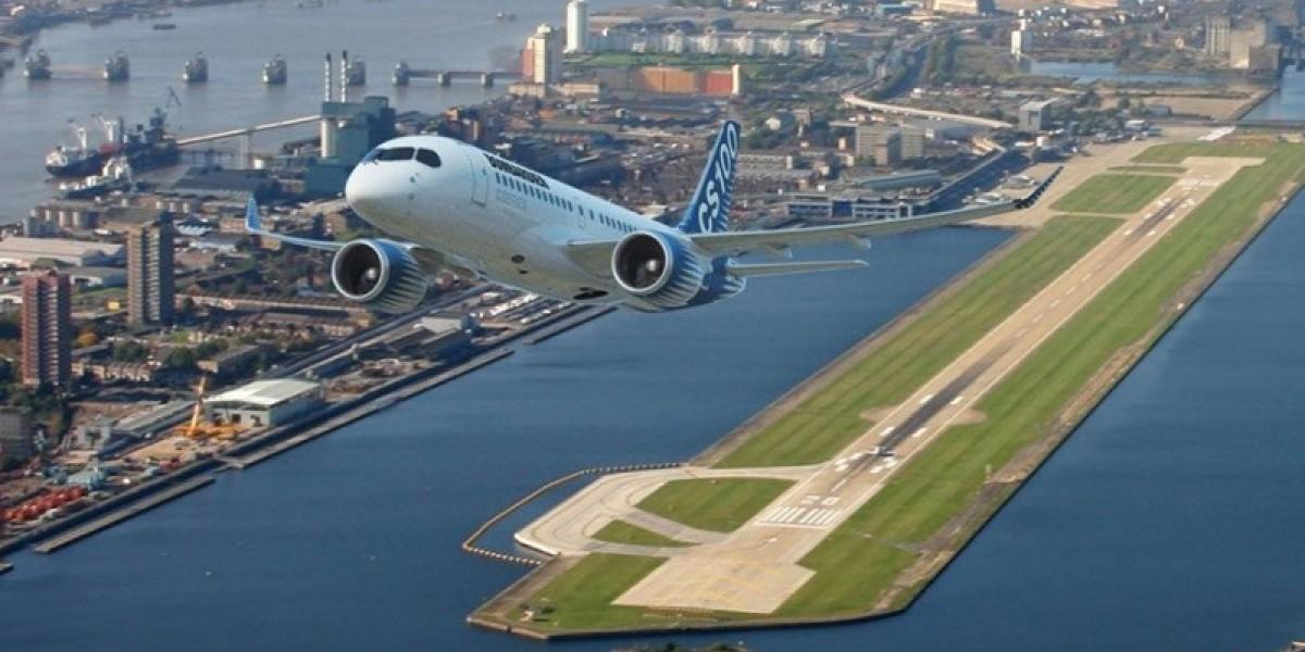 مطار لندن سيتي يعلق جميع الرحلات التجارية والخاصة حتى نهاية أبريل المقبل