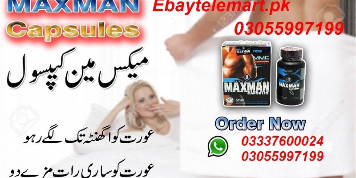 Maxman Capsule Price in Pakistan 03055997199