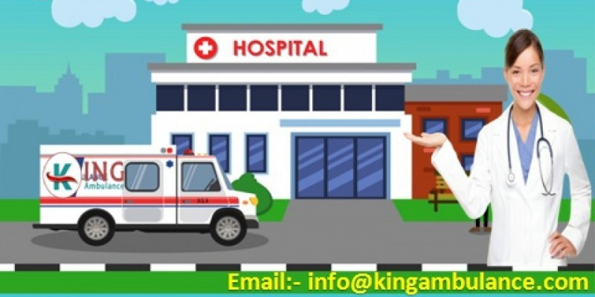 King Is Giving the Full Amenities in Ambulance Service in Patna